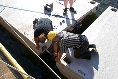 Строительство и монтаж «марин под ключ»