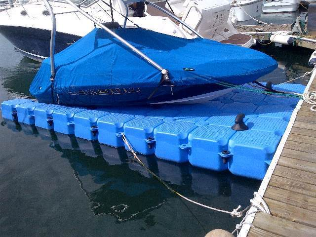 Купить плавучие понтоны