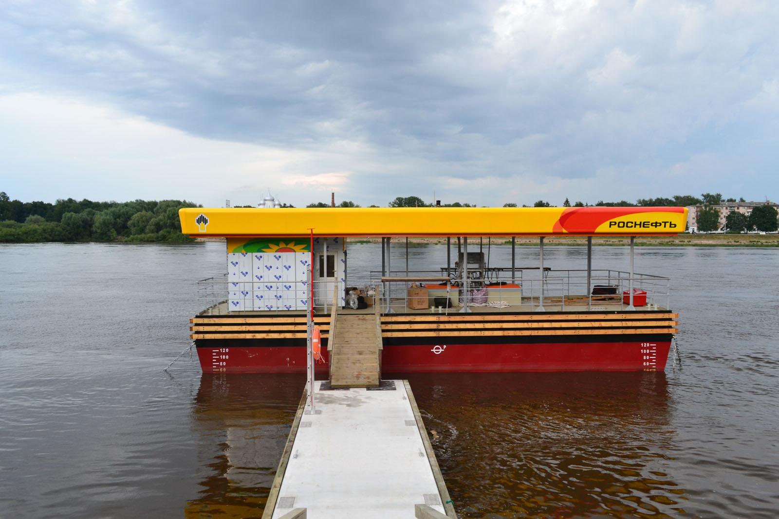 Заправочные станции для яхт и катеров