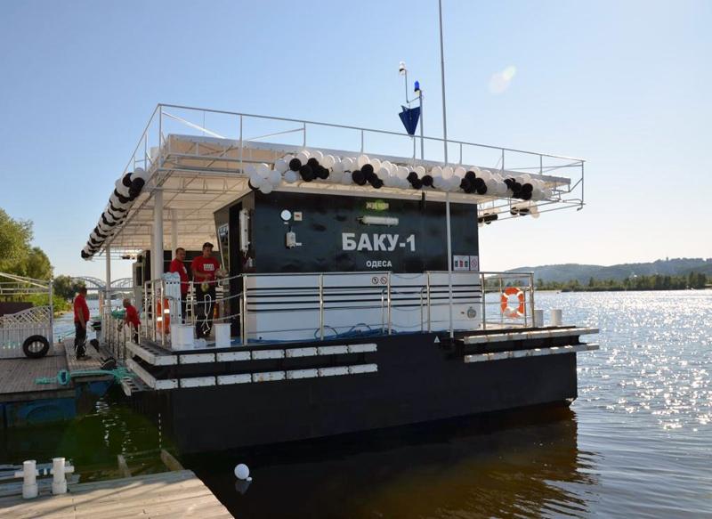 АЗС для яхт, катеров и лодок